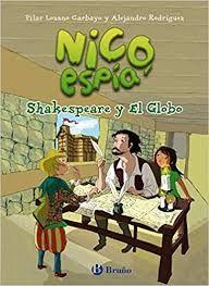 Libro infantil Nico, espía: Shakespeare y El globo