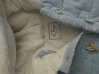 2 abrigos de marca dulces 12/18 meses
