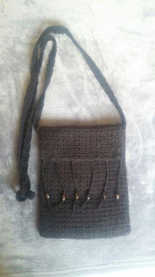 Bolso Bandolera de Crochet hecho a mano