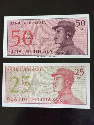Billetes indonesios