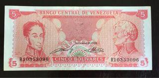 Billete de Venezuela