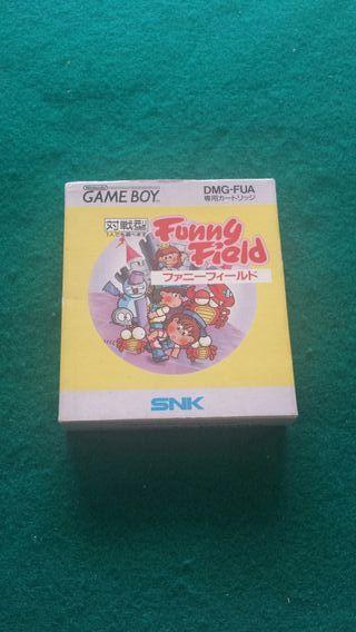 GAME BOY JUEGO FUNNY FIELD COMPLETO VERSIÓN NTSC