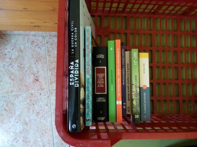 Lote 7 - 9 libros variados