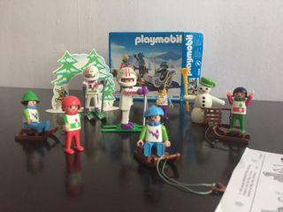 Esquiadores Playmobil