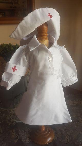uniforme enfermera mariquita Pérez
