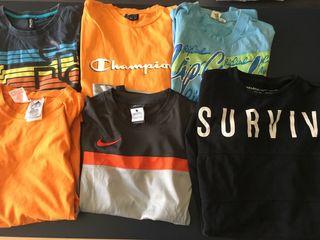 Lote de Camisetas de Niño de Marca