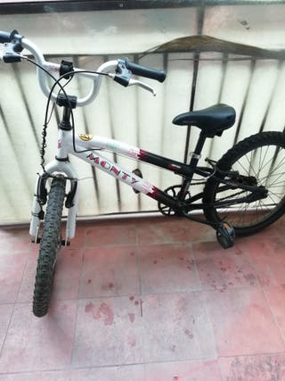 bicicleta Monty BMX 105 junior.