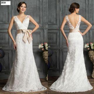 0ce1dc97b3 Vestido de novia talla 46 de segunda mano en Madrid en WALLAPOP