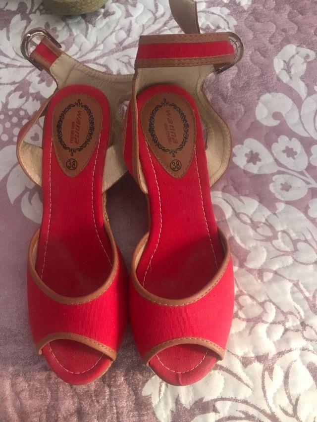 Zapato cuña señora