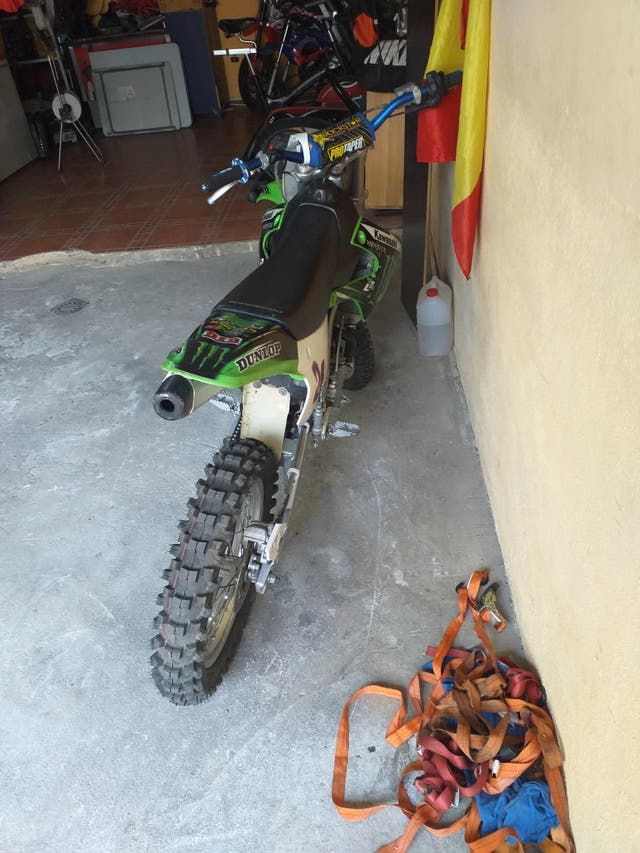 Kawasaki de cross