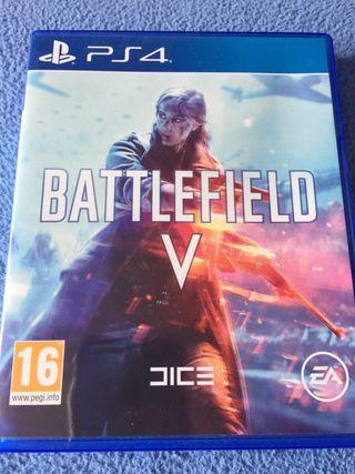 Battlefield V PS4 perfecto estado