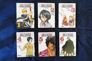 Bleach - Mangas Tomos del 1 al 6