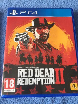 Red dead redemption II perfecto estado