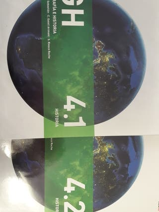 Libros de Geografía e Historia: 4°ESO
