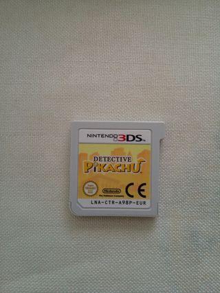 Detective Pikachu 3ds y 2ds