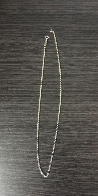 7382285860af Collar de plata de segunda mano en Tarragona en WALLAPOP