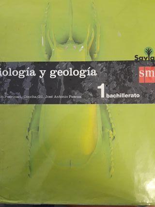 Libro de Biología y Geología 1° Bach