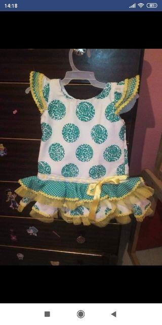 traje de flamenca bebe