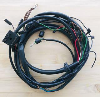 Instalación eléctrica nueva para moto bmw clásica.