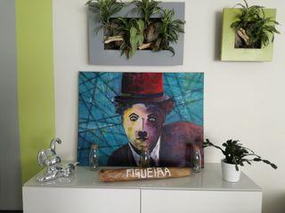 Toile Charlie Chaplin