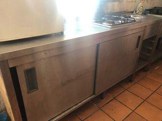 Mueble Cocina Acero Inox
