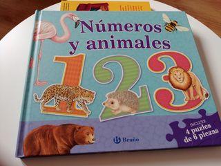 Libro Números y animales editorial Bruño