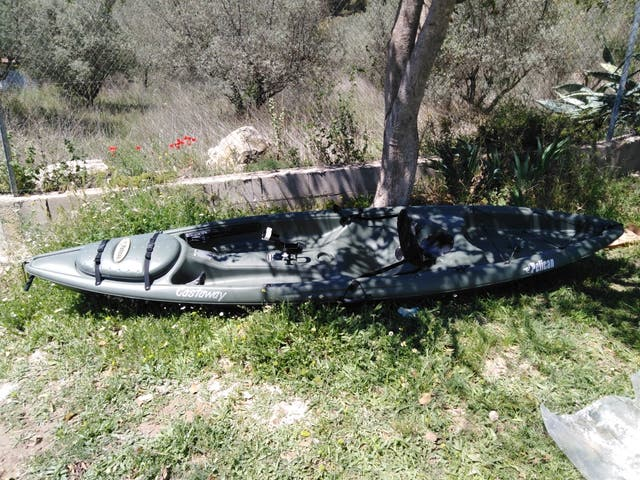 Kayak canoa pelican.