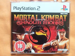 Promo Mortal Kombat Shaoling Monks PS2