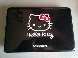 Portátil netbook Hello Kitty batería nueva