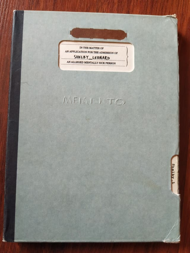 DVD MEMENTO