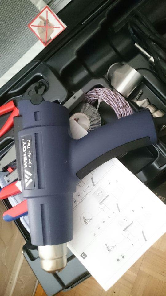 Soplador aire caliente Weldy nuevo sin uso