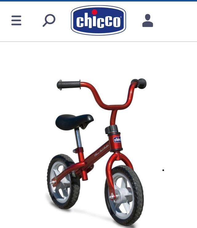 f20542686 Bicicleta sin pedales Chicco First Bike de segunda mano por 18 € en ...
