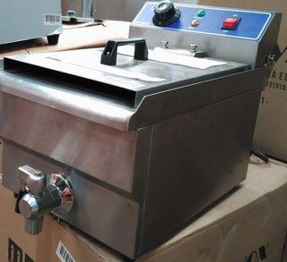 Freidora eléctrica de sobremesa 10 Litros con grif