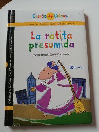 Libro La Ratita presumida de pictogramas.