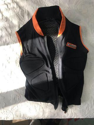Protector de esquí para espalda talla M