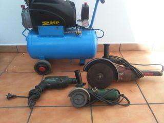 Lote herramientas industriales