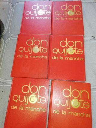 6 volumes cómics don quijote de la mancha