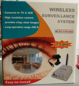 Cámara de vigilancia color infrarojo kit completo