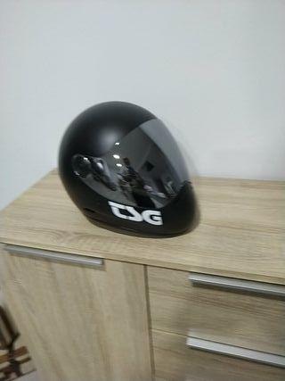 casco protecion skate electrico