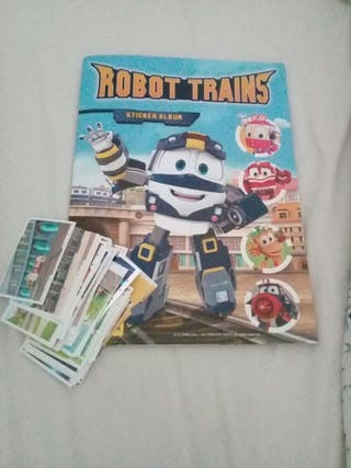Cromos Robot Trains