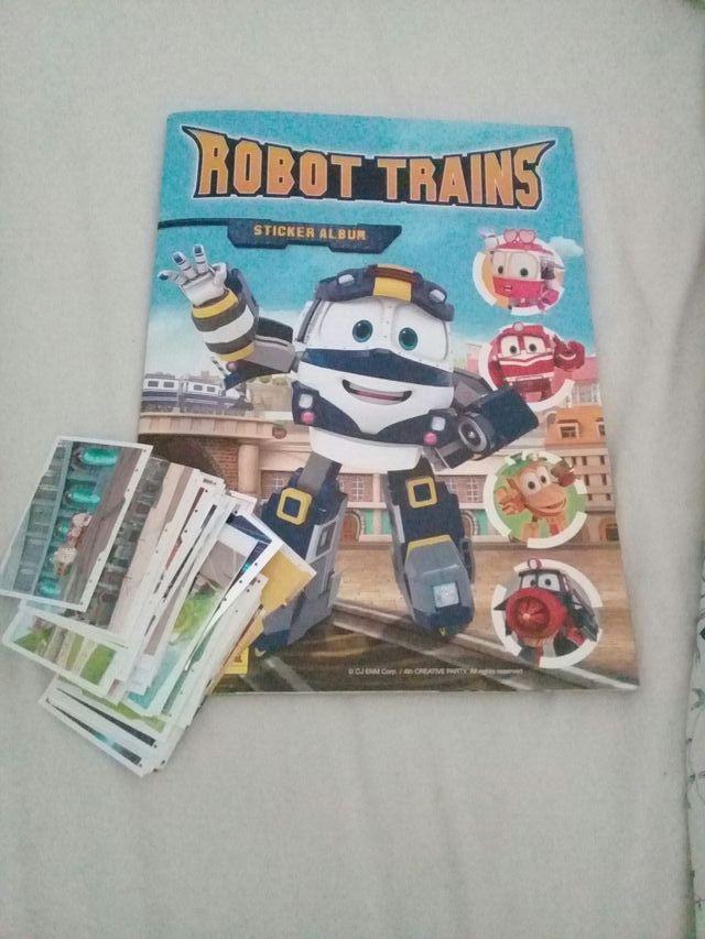 Cromos Robot Trains