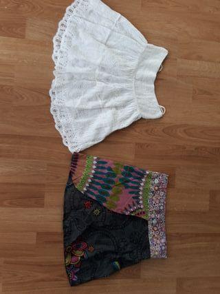 Lote 2 faldas