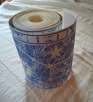 Cenefa papel pintado