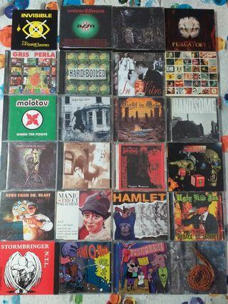 Colección CDs Heavys