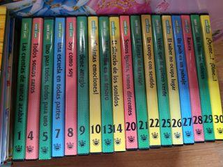 Dvds y libros barrio sésamo