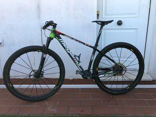 Bicicleta de montaña 29 pulgadas carbono