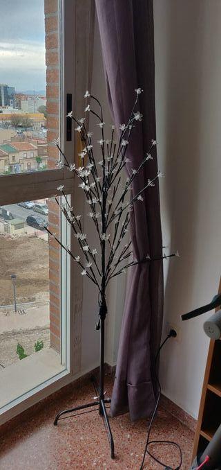 árbol de luces de Navidad