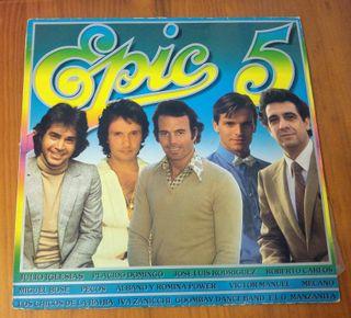 "Disco vinilo ""Epic 5"""
