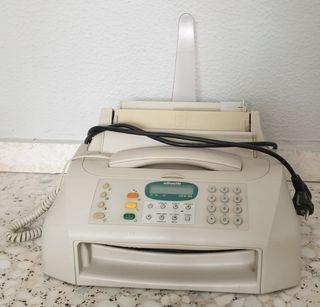 Teléfono fax y copiadora