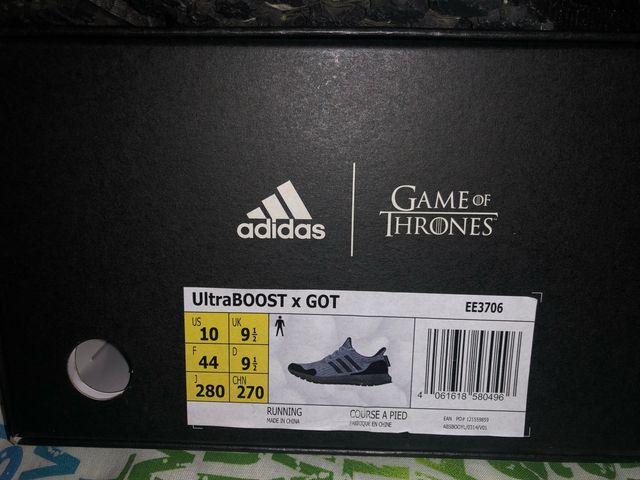 Zapatillas Adidas Ultraboost (Juego de Tronos) 44
